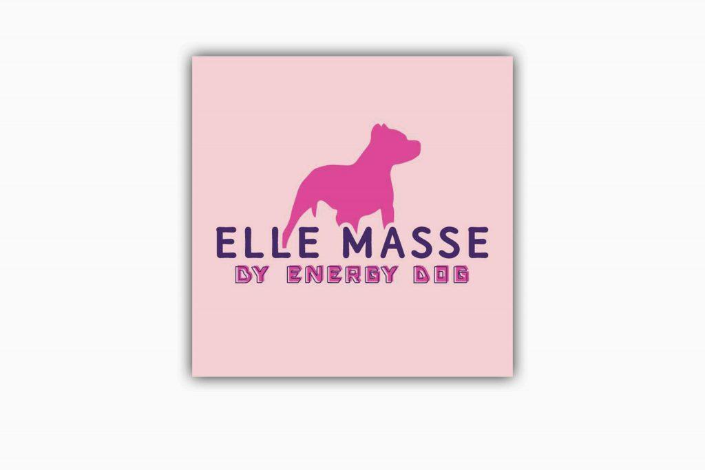 Logo Elle masse by energydog