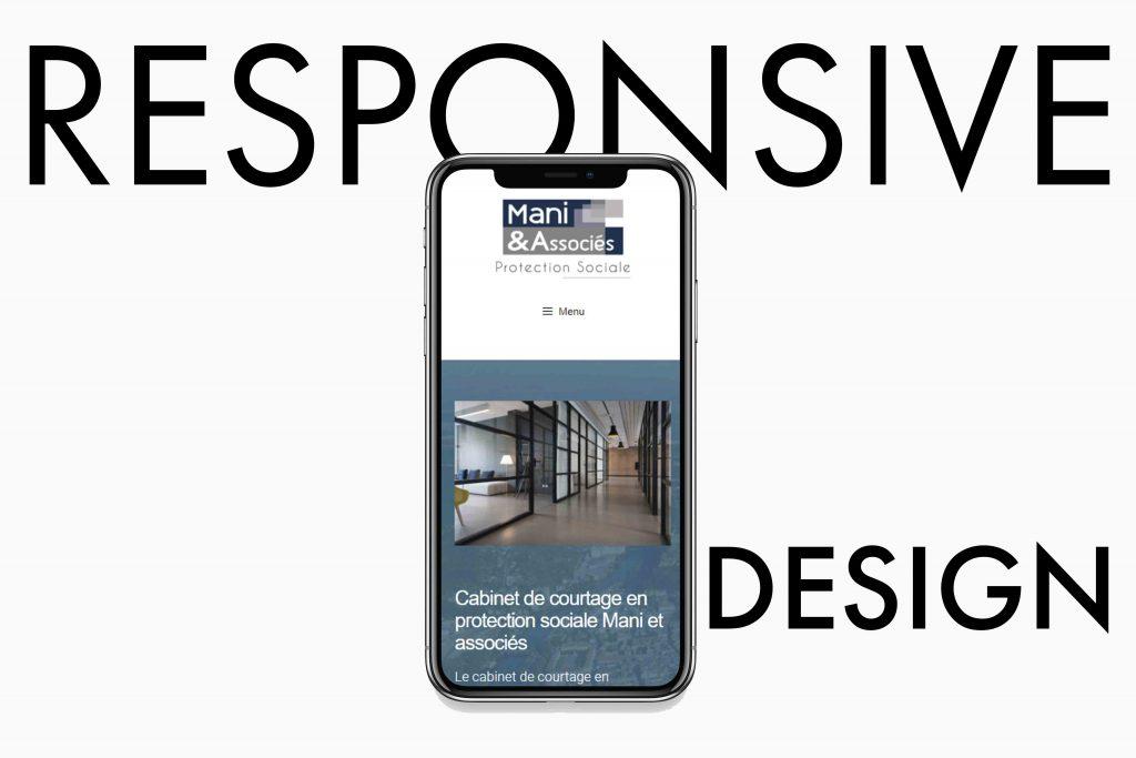 Design Responsive pour le site de Mani et Associés