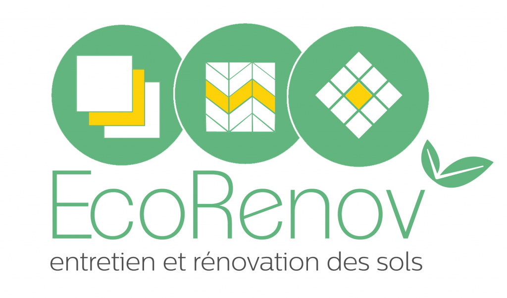 Logo EcoRenov renovation de parquets et marbres